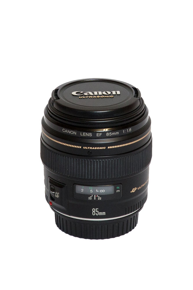 Canon EF 85mm f1.8 USM   Equipmentverleih Salzburg